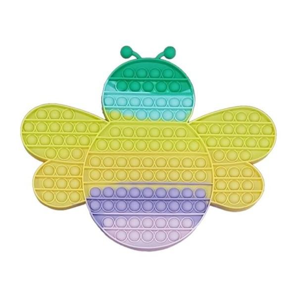 Super Jumbo Fidget Pop it Αγχολυτικό Παιχνίδι Μέλισσα Γιγαντοτεράστια
