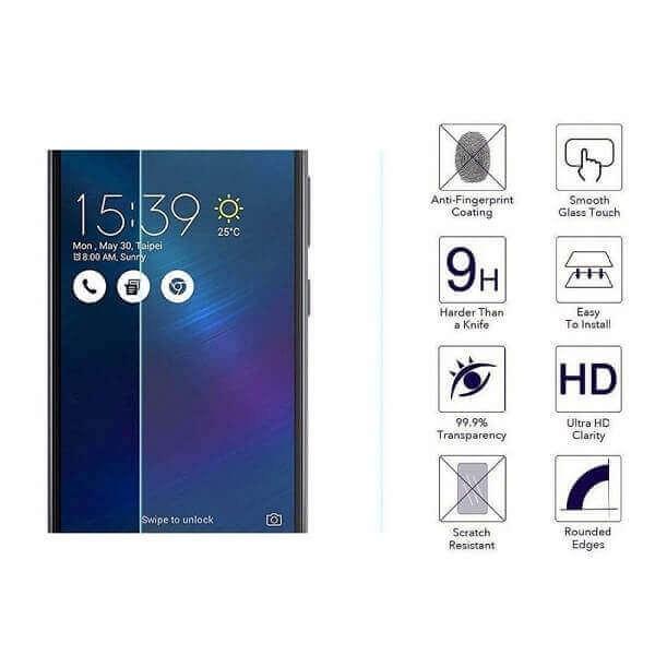 Curved Edge Tempered Glass Full Glue 9H για Samsung S10 PLUS Black