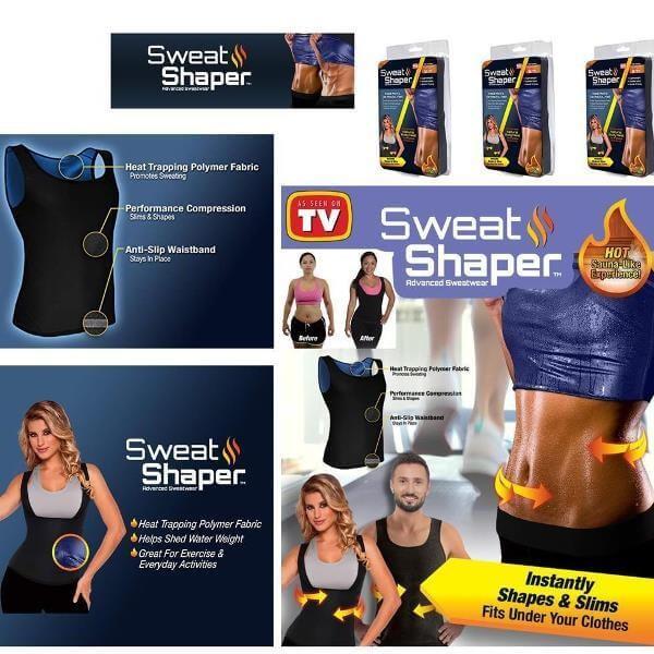 Φανελάκι Εφίδρωσης Σάουνα Sweat Shaper για Άνδρες