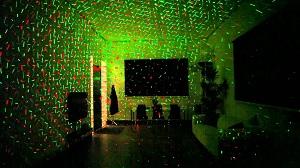 Χριστουγεννιάτικος φωτισμός-προβολέας leaser αδιάβροχος Moving Laser